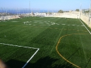 New berga & new artificial turf at football ground